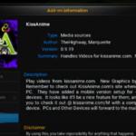 How to install Kissanime addon for Kodi Krypton 17