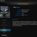 TDB Wizard addon for Kodi guide and Review