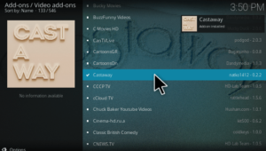 Castaway kodi addon install and download with good review