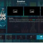 Exodus Kodi Addon – Free download & install on Krypton 17.6