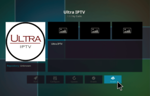 Ultra IPTV Kodi - Download the Video Addon to watch HD TV channels