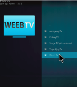 Weeb TV Kodi - Download the addon for Krypton 17.6