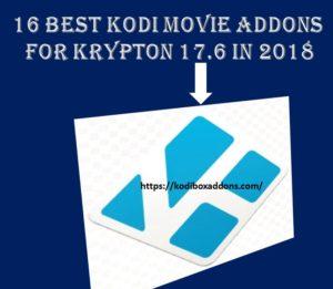 best kodi movie addons in 2018 for Krypton 17_6