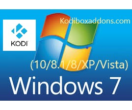 Kodi for Windows 10 8 7 vista and XP